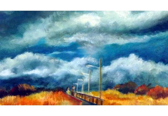Bridge by Pier